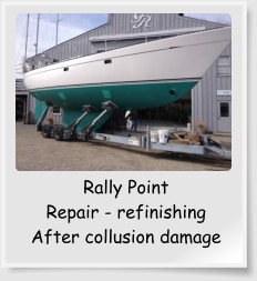 Rally Point Repair - refinishing After collusion damage